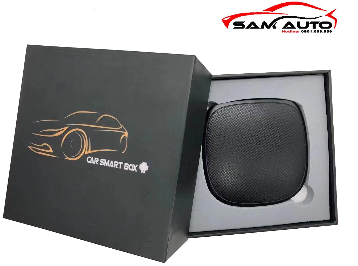 Ai Box CarPlay 4G- Biến Màn Hình Ô Tô Thành Android 2021
