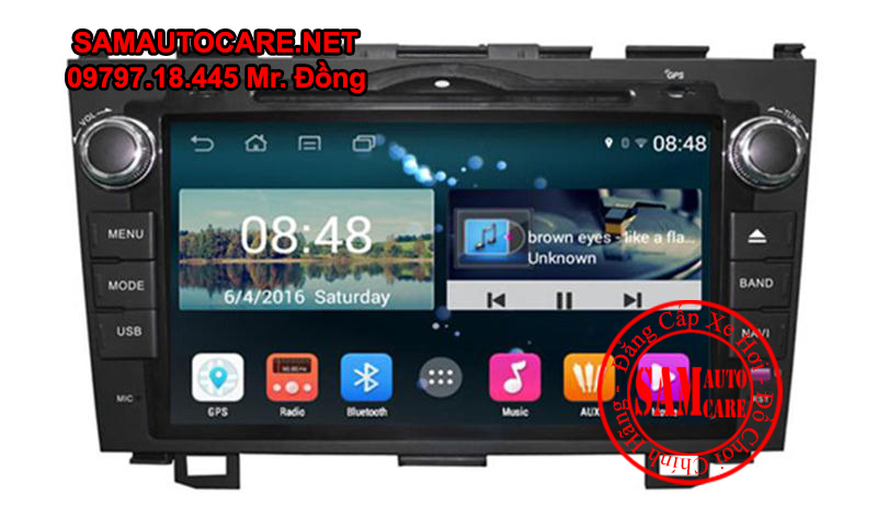 DVD Android ôtô Honda CRV