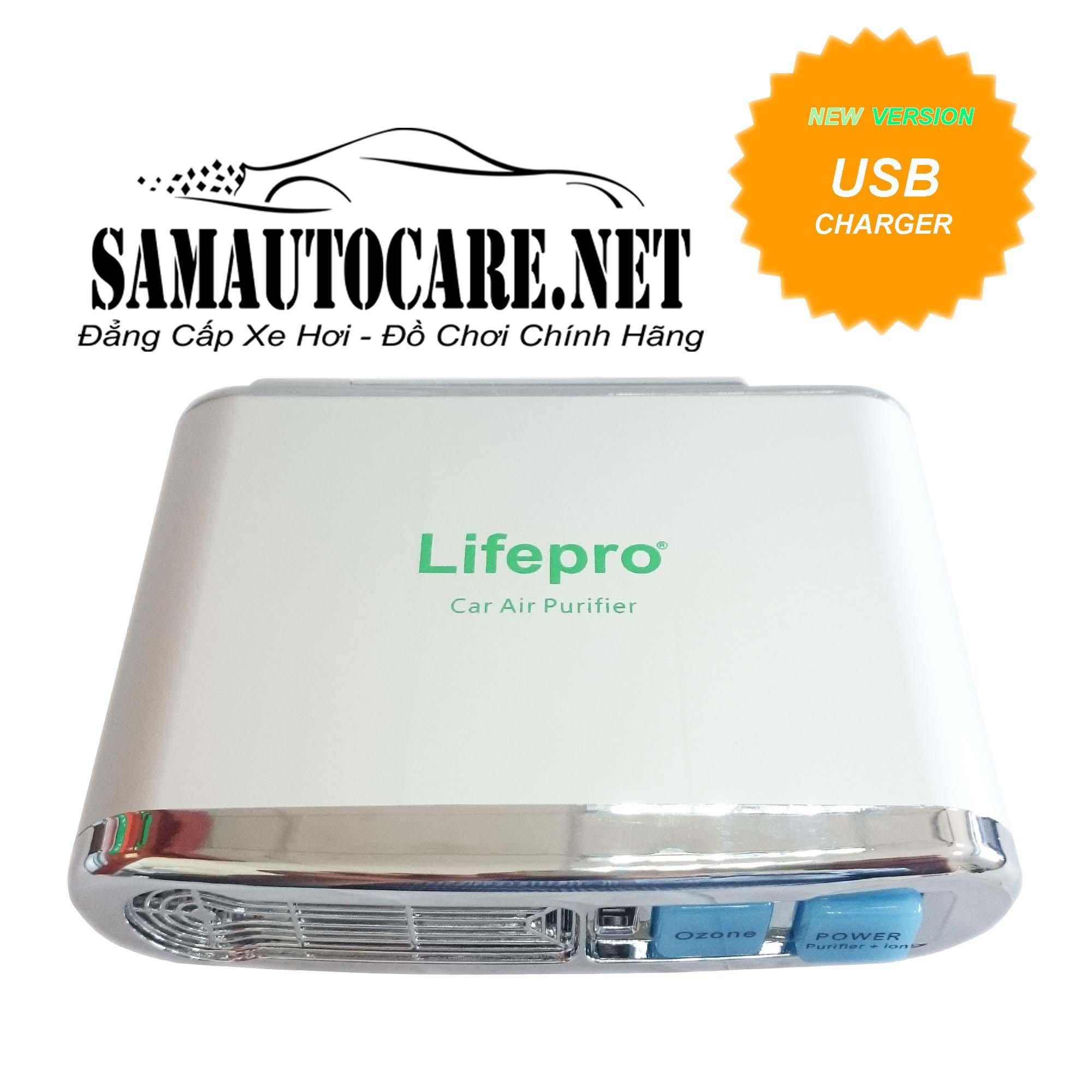 Máy Lọc Không Khí Và Khử Mùi Trên ôtô Lifepro