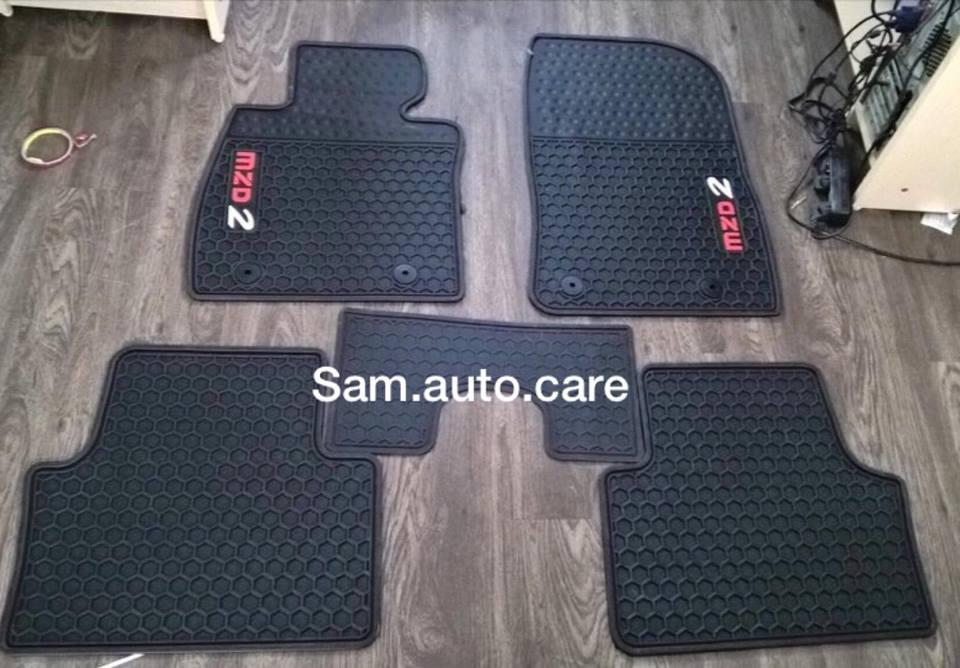 Thảm Lót Sàn 3D Theo Xe Mazda 2