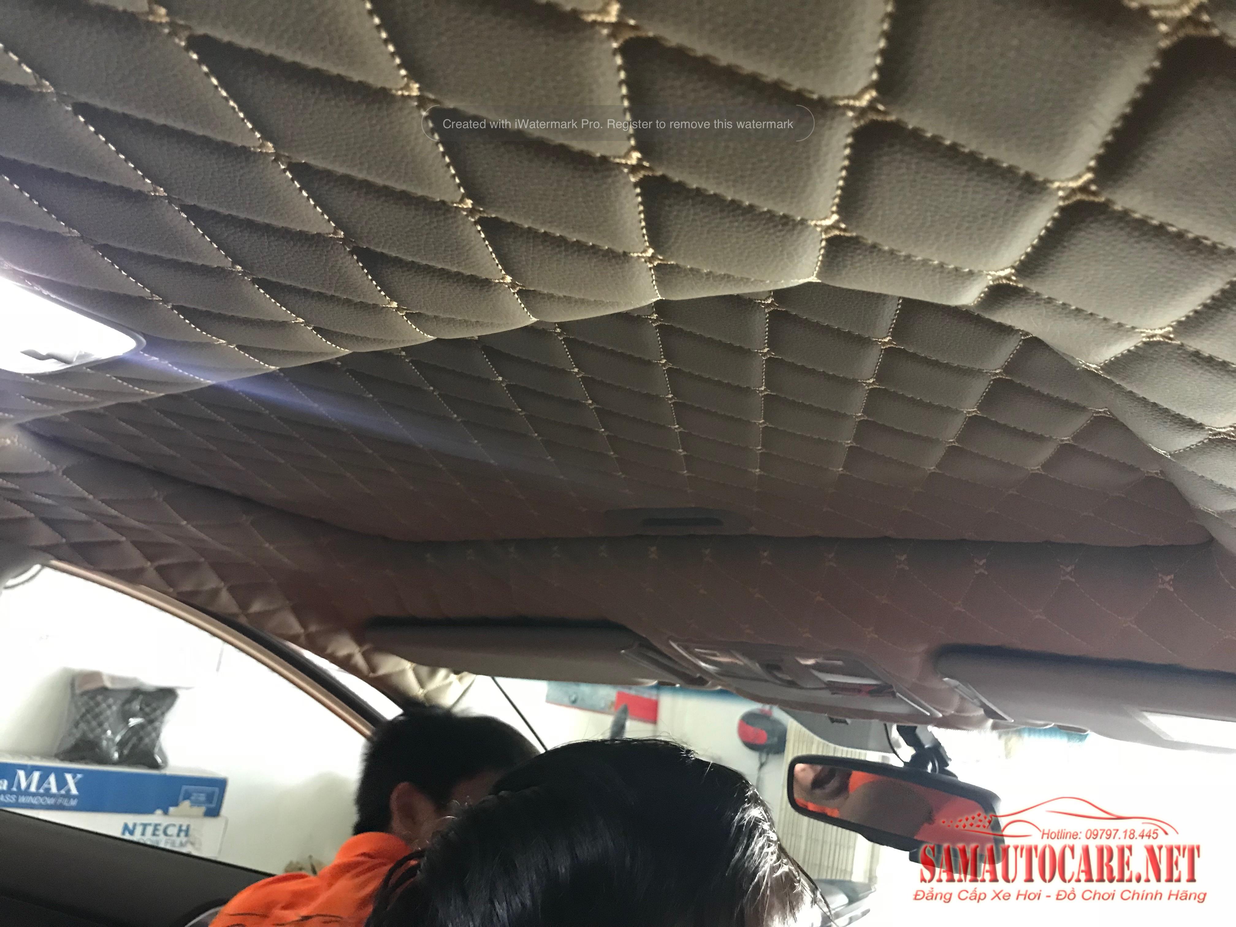 Dán La Phông Trần 5D Kia Forte