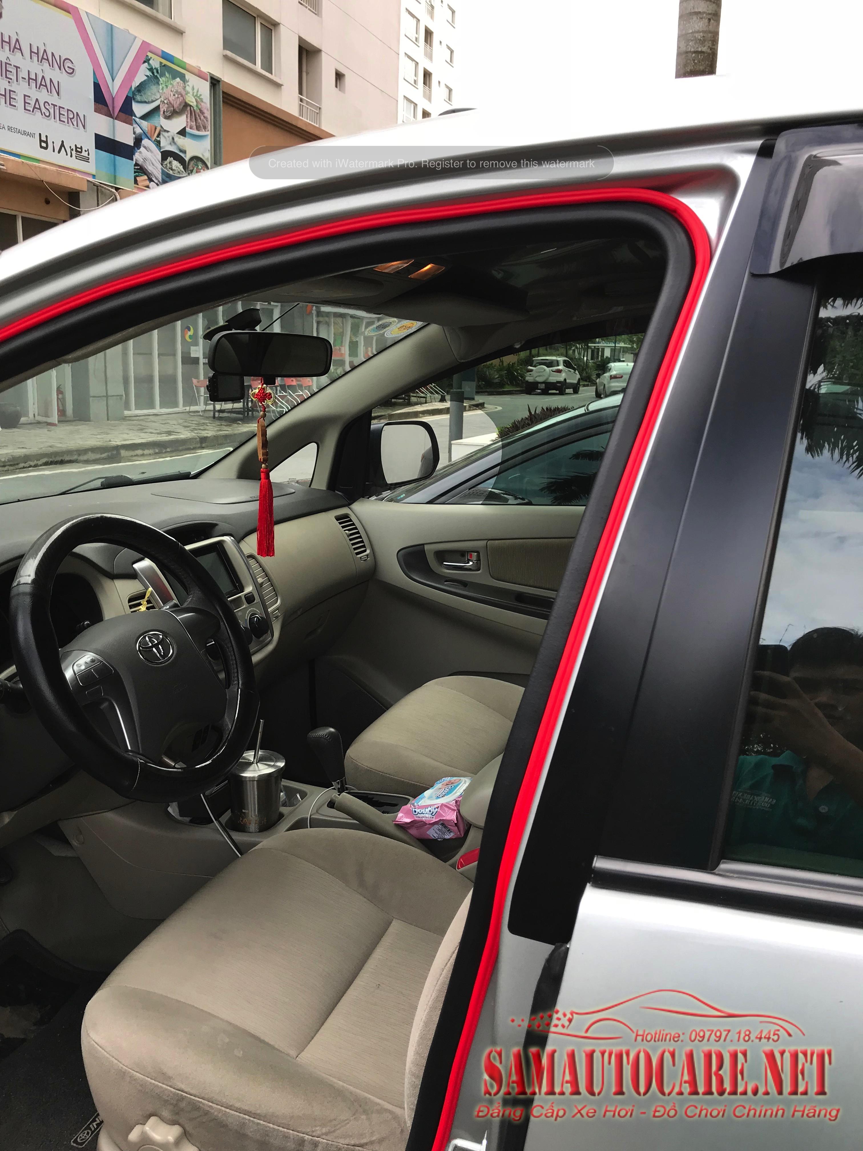 Gioăng Cửa Chống Ồn Toyota Innova
