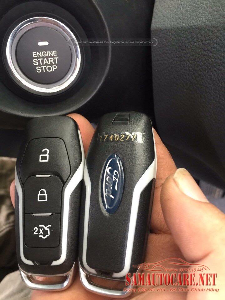 Start Stop - Smart Key Xe Ford Ranger