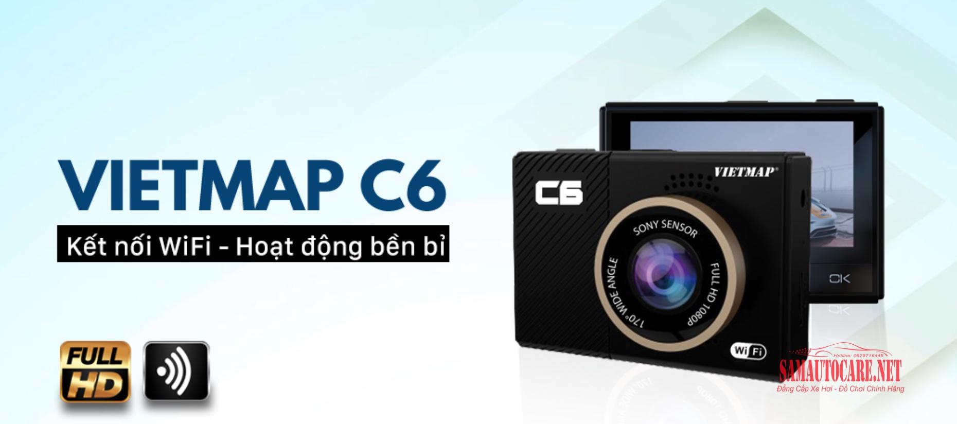Camera Hành Trình Vietmap C6 Wifi