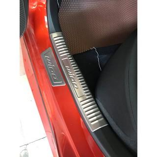 Bậc Bước Toyota Wigo Inox