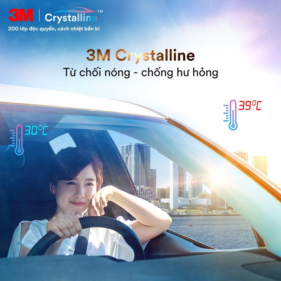 Giá Phim Cách Nhiệt 3M Crystalline Chính Hãng