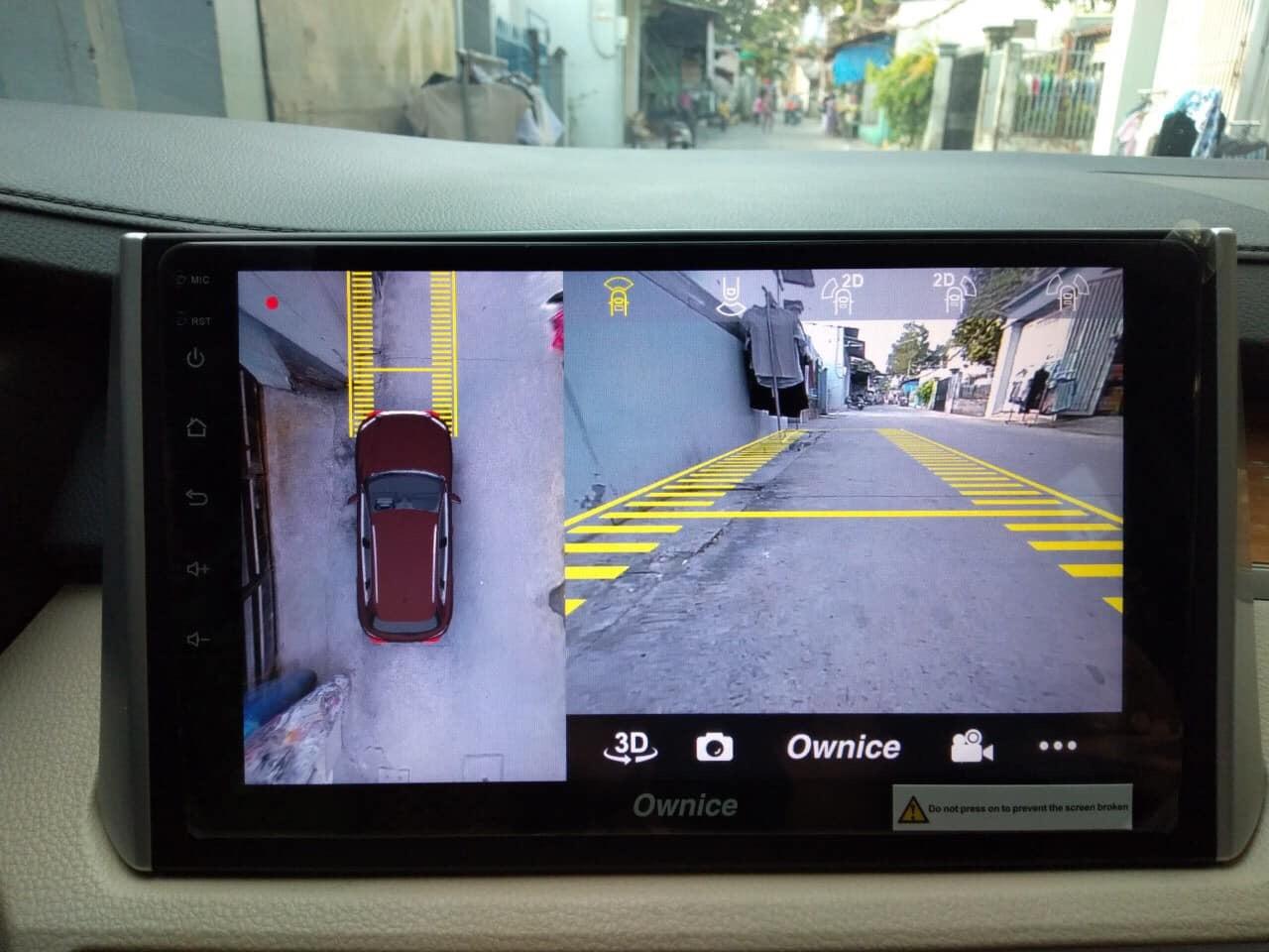 Lắp Đặt Màn Hình DVD Android Kiêm Camera 360 3D Cho Xpander
