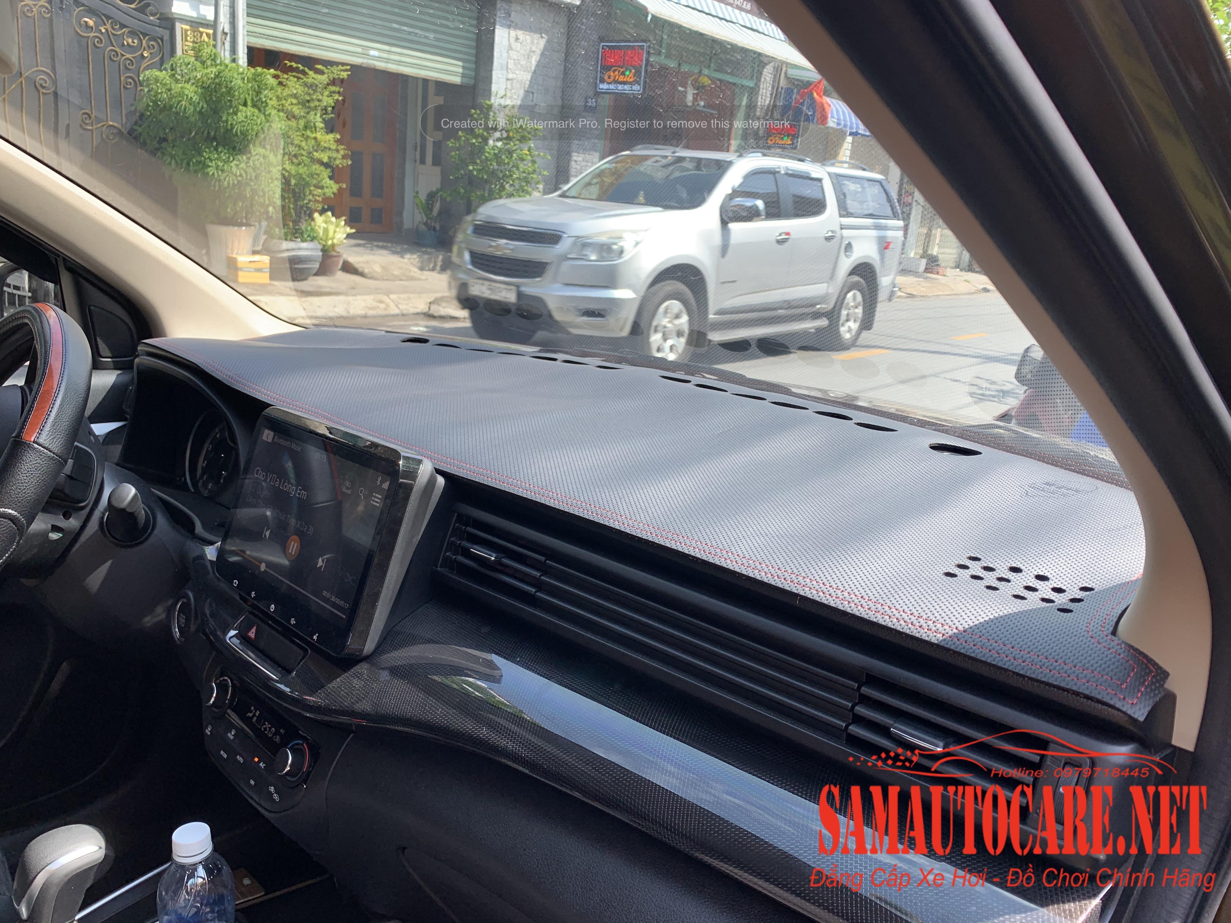 Thảm Taplo Da Carbon Suzuki XL7