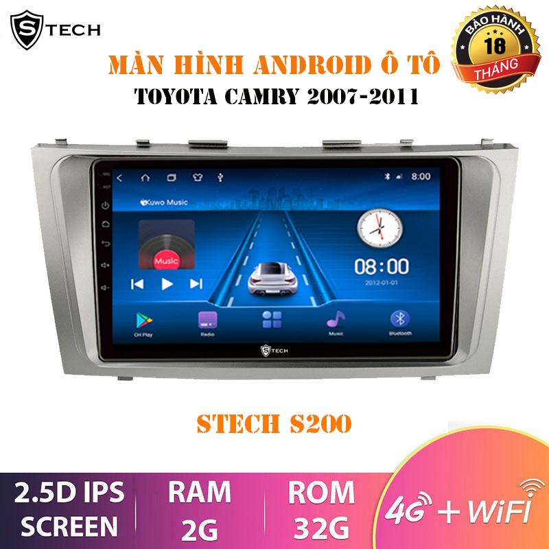 Màn Hình Android Stech S200 Theo Xe Toyota Camry 2010