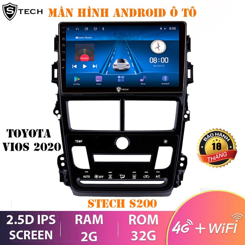 Màn Hình Android Stech S200 Toyota Vios 2020