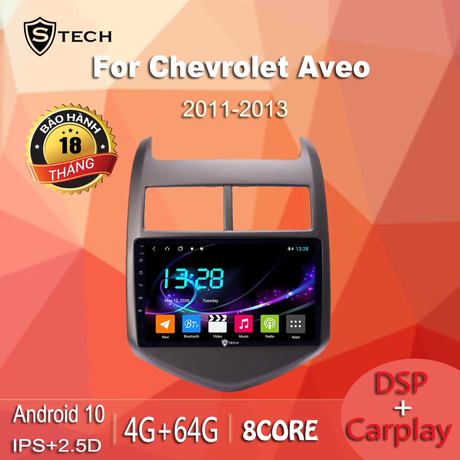 Màn Hình Android Stech S600 Xe Chevrolet Aveo
