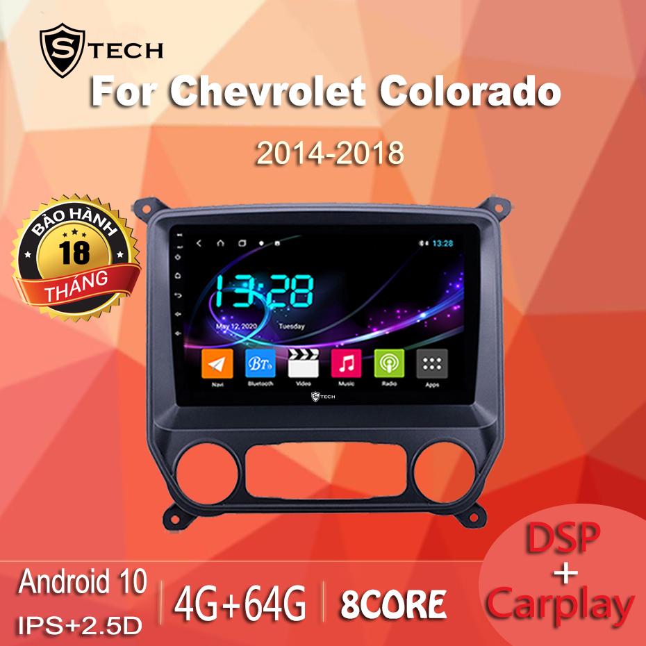 Màn Hình Android Stech S600 Xe Chevrolet Colorado