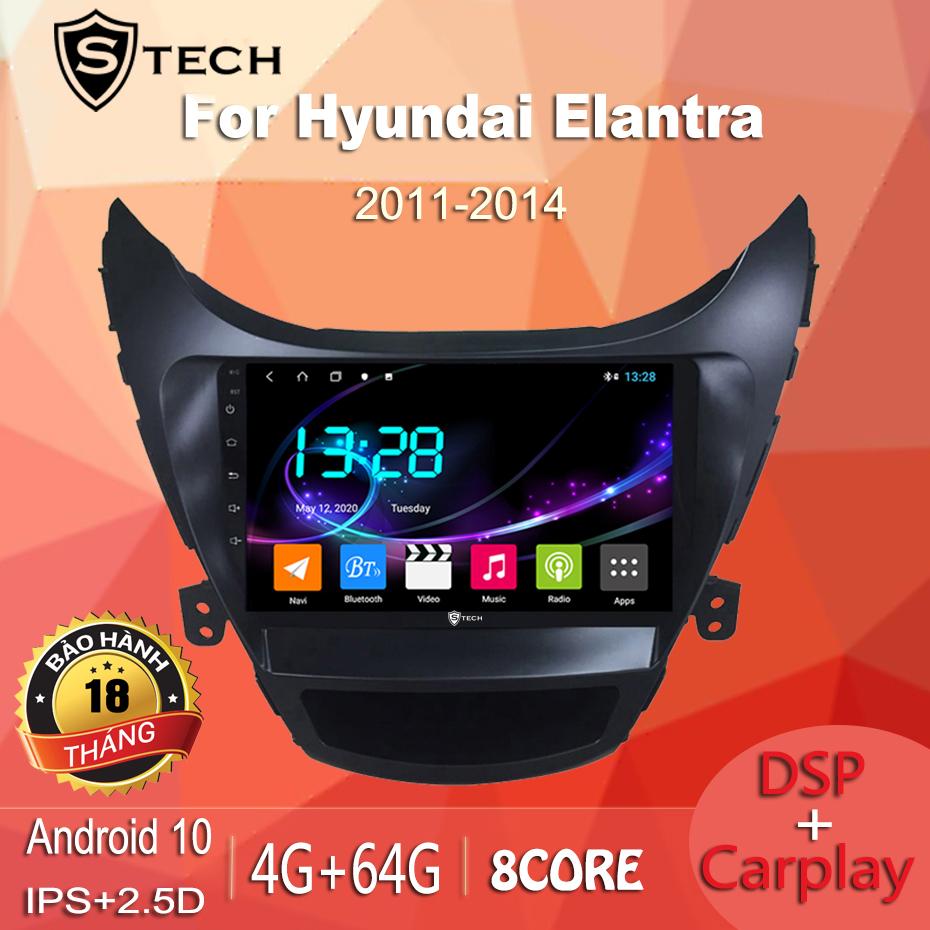 Màn Hình Android Stech S600 Xe Elantra 2014