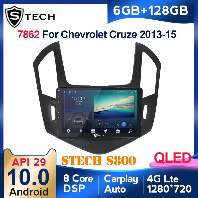 Màn Hình Android Stech S800 Xe Chevrolet Cruze 2017