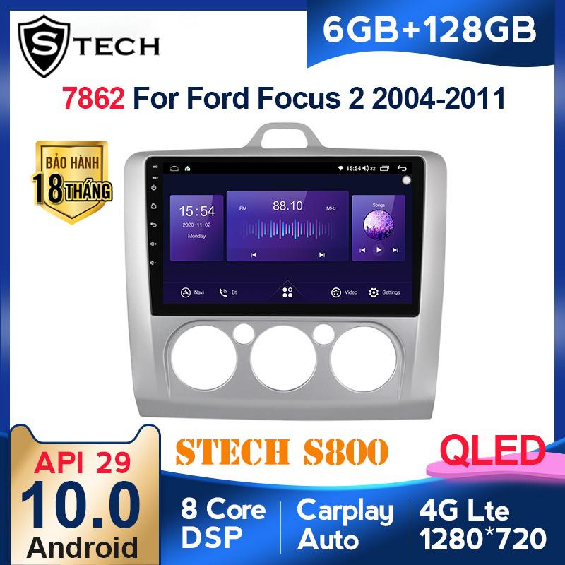 Màn Hình Android Stech S800 Xe Ford Focus