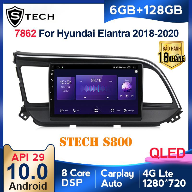 Màn Hình Android Stech S800 Xe Hyundai Elantra 2020