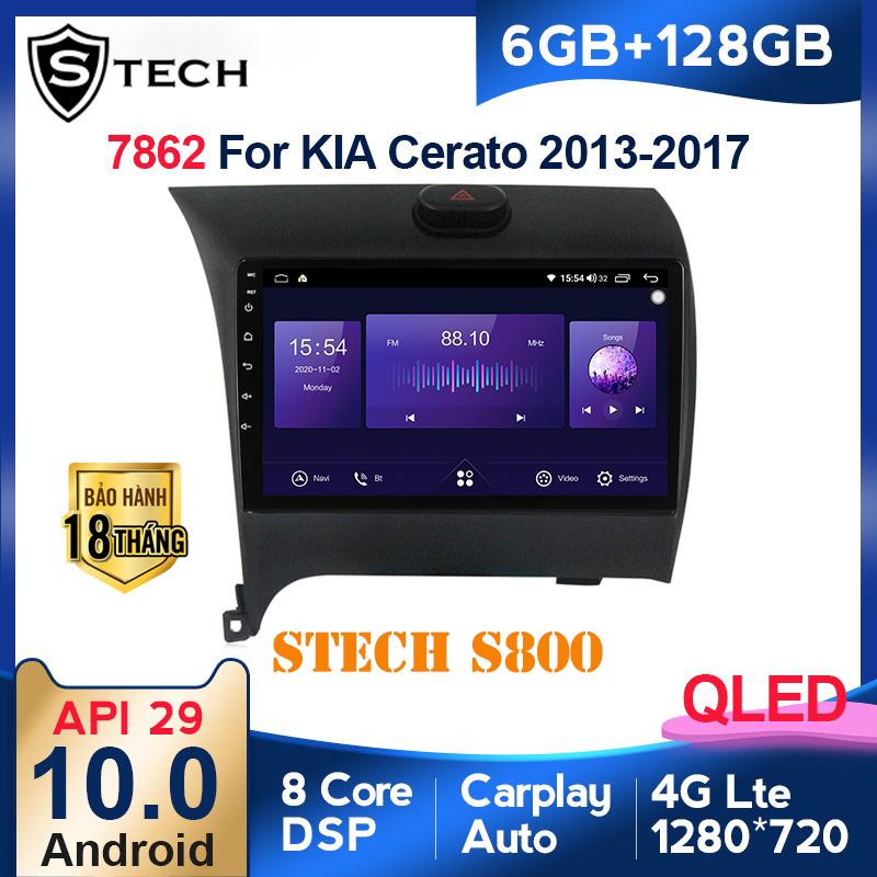 Màn Hình Android Stech S800 Xe Kia Cerato 2016