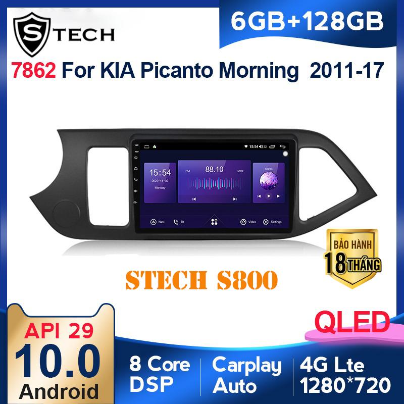 Màn Hình Android Stech S800 Xe Kia Morning