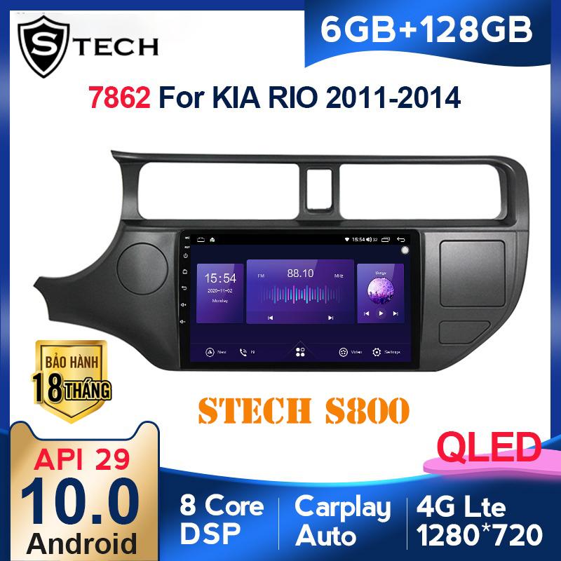 Màn Hình Android Stech S800 Xe Kia Rio