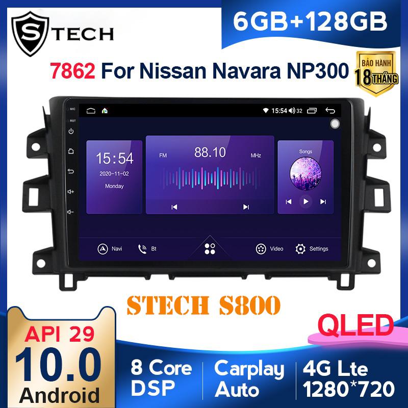 Màn Hình Android Stech S800 Xe Nissan Navara