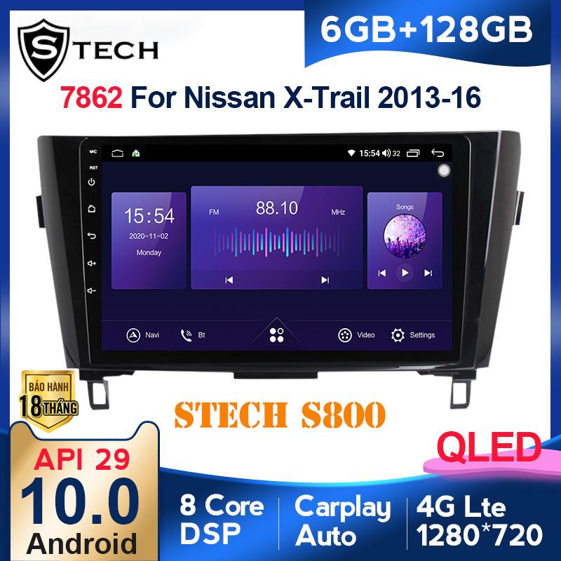 Màn Hình Android Stech S800 Xe Nissan Xtrail