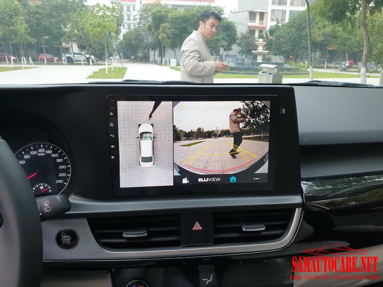 Màn Hình Android Liền Camera 360 Kia Seltos