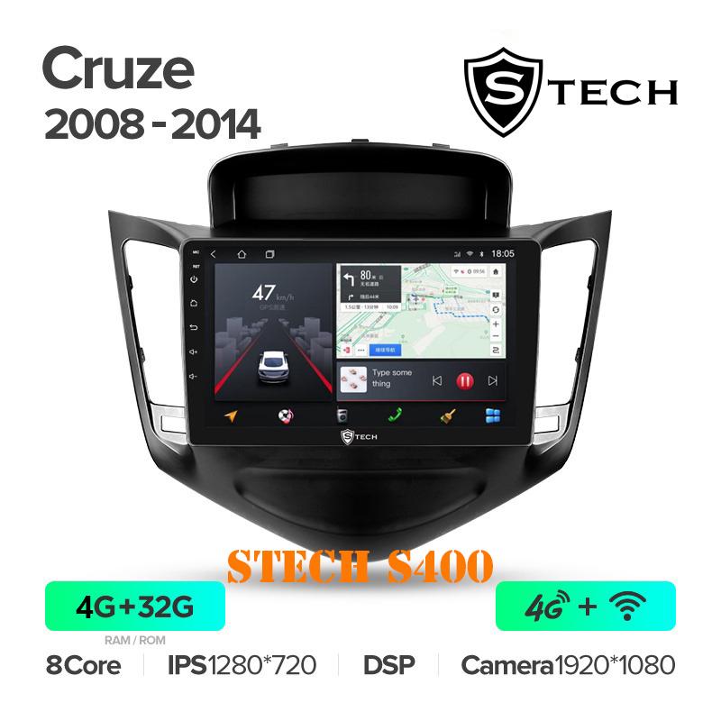 Màn Hình Android S400 Cho Xe Chevrolet Cruze 2008 - 2014