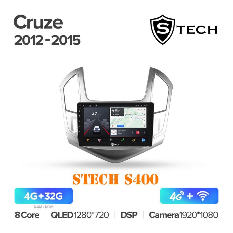 Màn Hình Android S400 Cho Xe Chevrolet Cruze 2012 - 2015