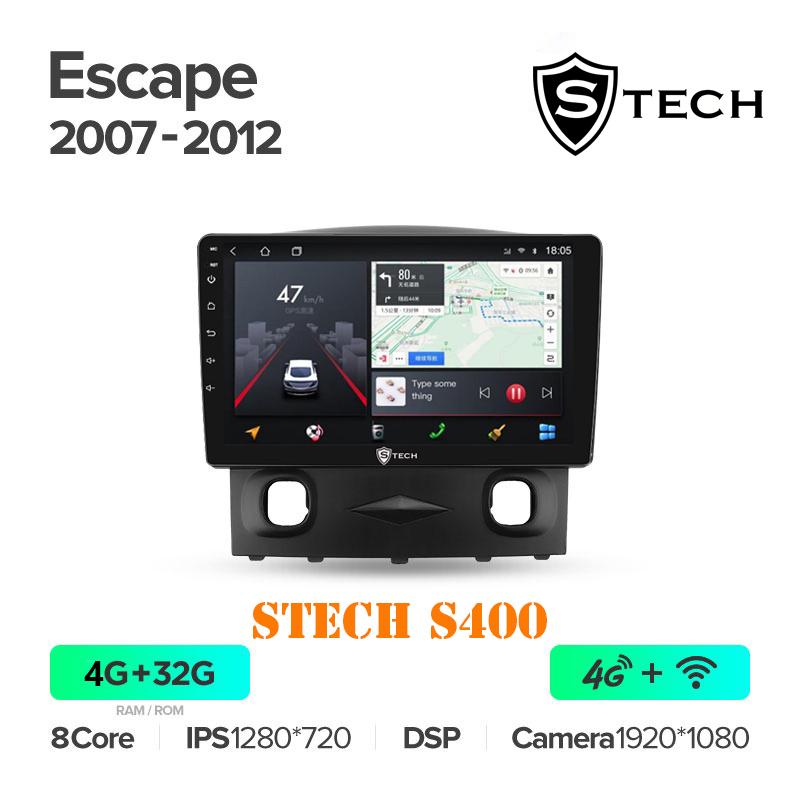 Màn Hình Android S400 Cho Xe Ford Escape 2007 - 2012