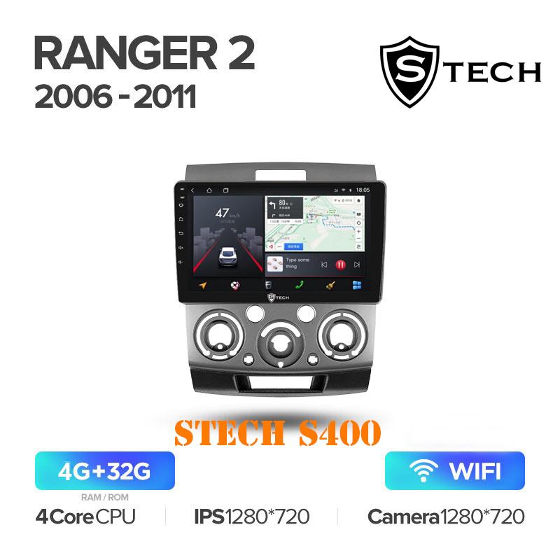 Màn Hình Android S400 Cho Xe Ford Everest 2008-2012