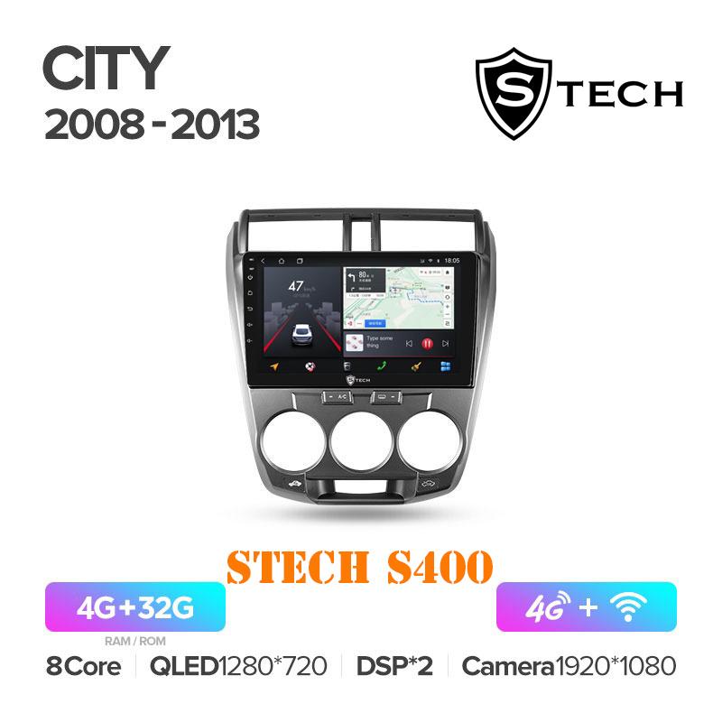 Màn Hình Android S400 Cho Xe Honda City 2008 - 2013
