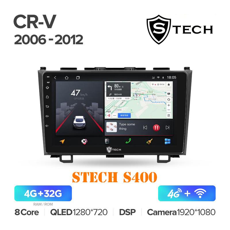 Màn Hình Android S400 Cho Xe Honda CRV 2006 - 2012