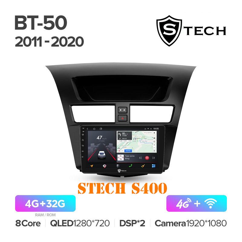 Màn Hình Android S400 Cho Xe Mazda BT-50 2011 - 2020