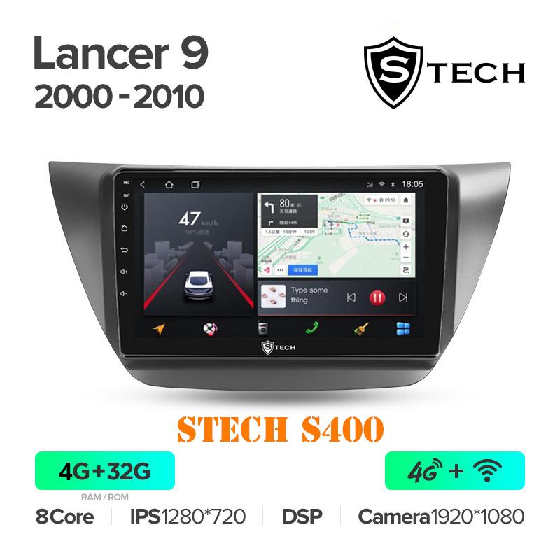 Màn Hình Android S400 Cho Xe Mitsubishi Lancer 2010