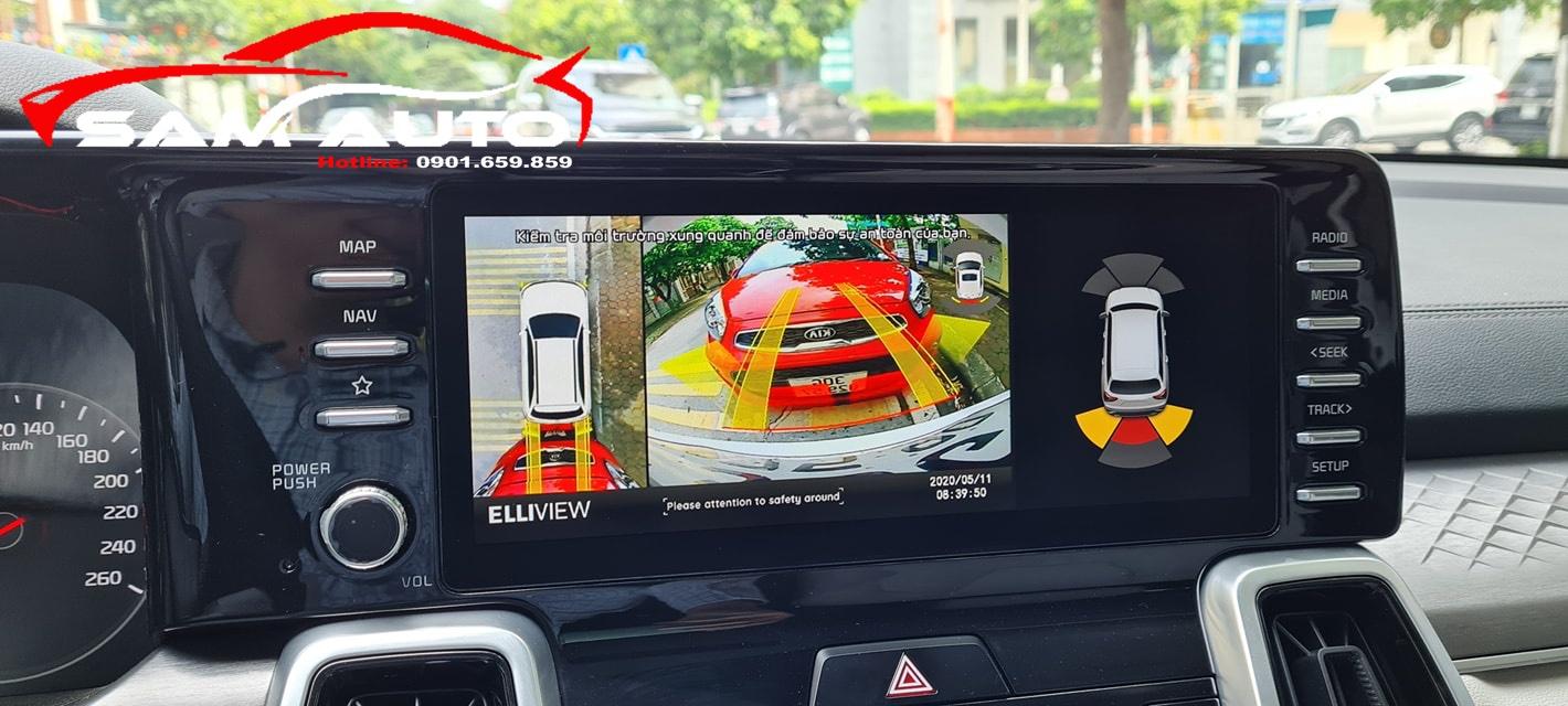 Gắn Camera 360 Cho Kia Sorento 2021
